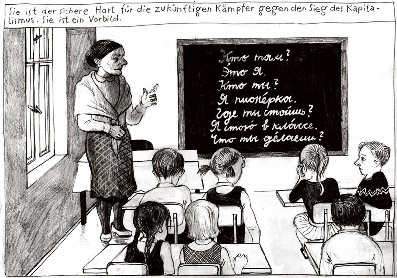 Ein deutsches Tier im deutschen Wald/ Effi redet Blech