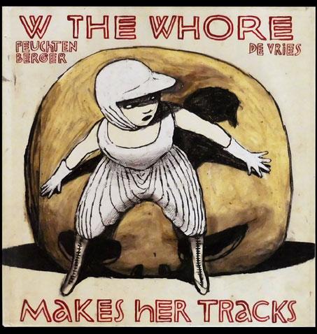 Anke Feuchtenberger, Katrin de Vries, Buch, W the Whore, Die Hure H zieht ihre Bahnen