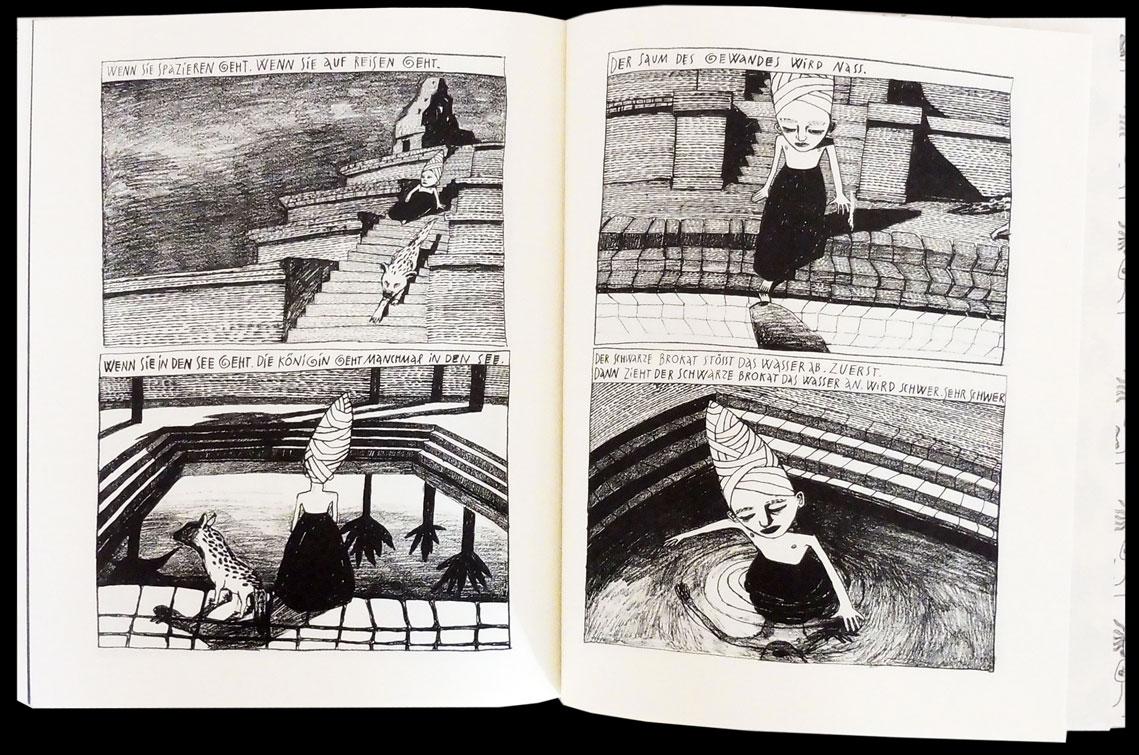 Die Kleine Dame, Feuchtenberger, de Vries, Bildgeschichte