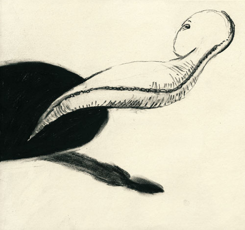 Anke Feuchtenberger, Meine lieben Toten, Zeichnung