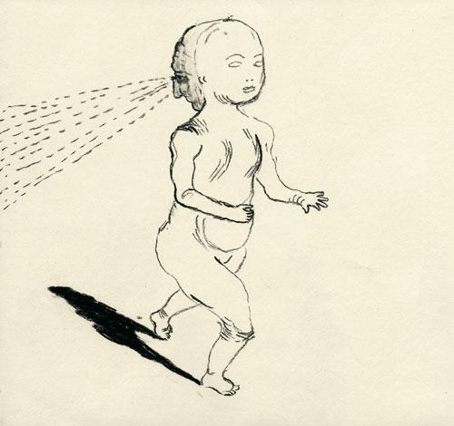 Anke Feuchtenberger, Meine liebe-Toten, Zeichnung