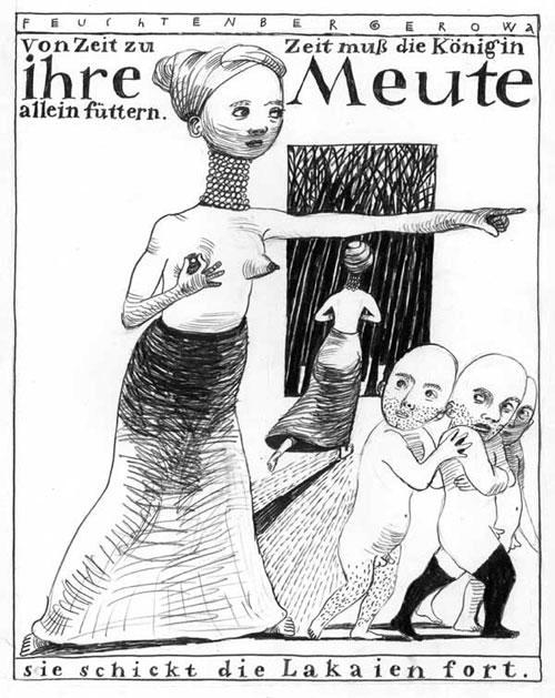 Anke Feuchtenberger, Ihre Meute,Comic