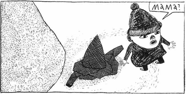 Anke Feuchtenberger,Comic,Schneewehe