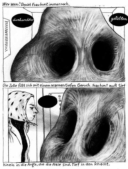Anke Feuchtenberger, Ausgerottete,Comic