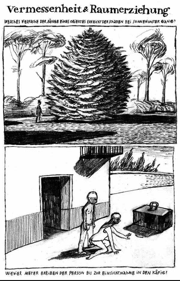 Anke Feuchtenberger, Graphic Essay, Raumerziehung