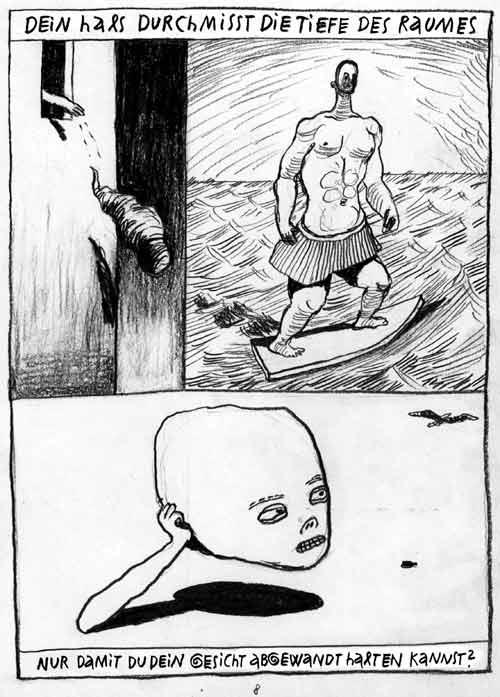 Anke Feuchtenberger,Orion,Comic