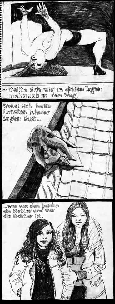 Anke Feuchtenberger, Cartografias, Graphic Essay