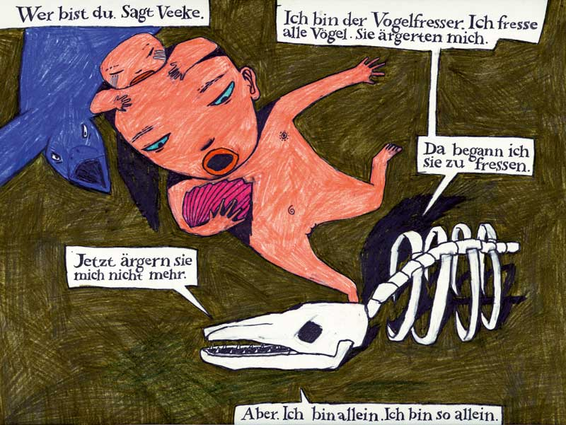 Veeke, picture story,Anke Feuchtenberger