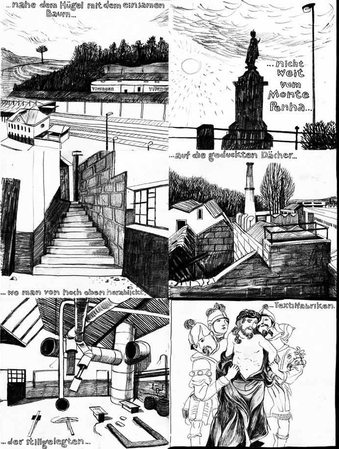 Anke Feuchtenberger, Graphic Essay