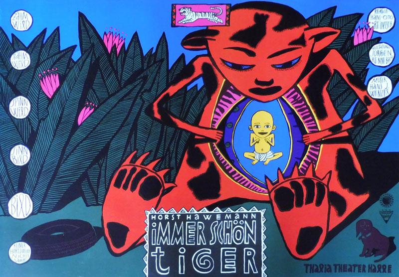 Immer schön Tiger